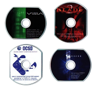 Visia Collateral: CD labels