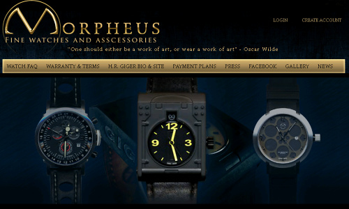 Visia flash gallery: Morpheus watches