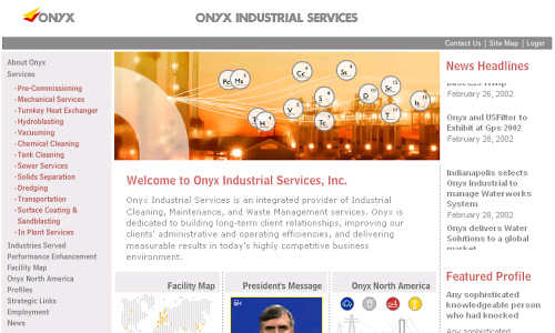 Visia flash gallery: Onyx Industrial Services